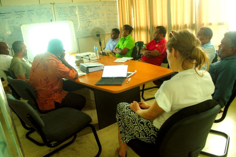 Tina Hydro Office Briefs Environment and NGO Officials