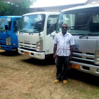 Roha Tribe Cooperative Society Business Initiative invests in three trucks
