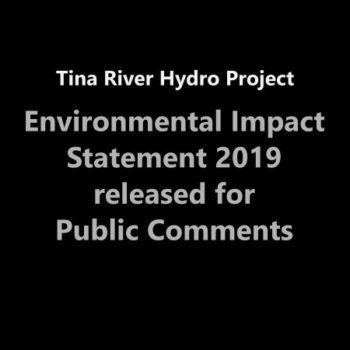 Environment Impact Statement 2019 (EIS) available for Public Comment