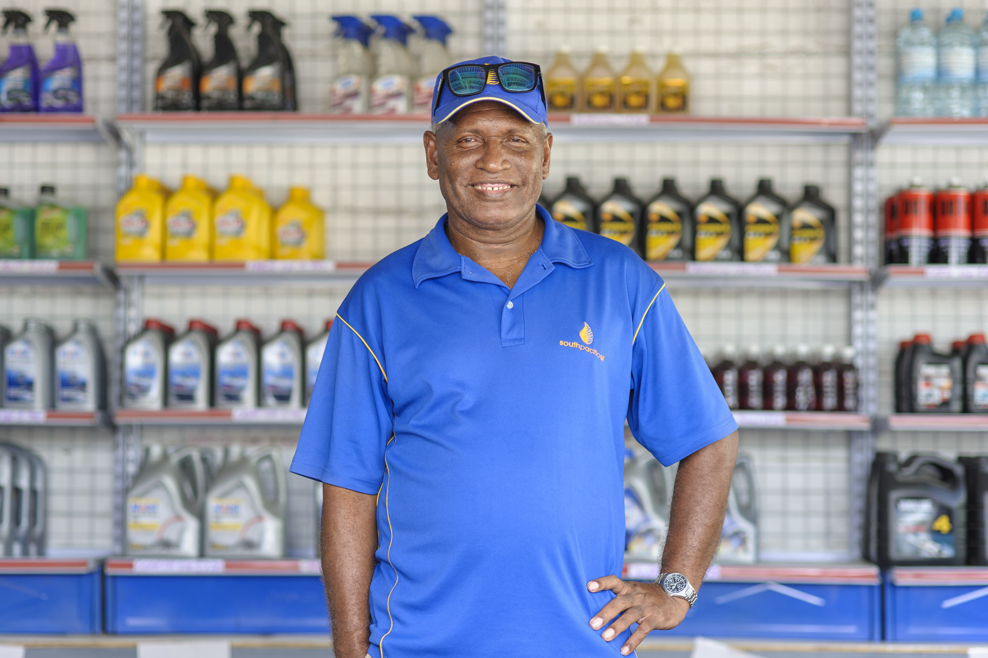 Toata Molea business owner in Honiara